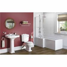 winchester bathroom suite lh shower bath 1700x850 victoriaplum com 1700 x 850 shower bath lh click to zoom