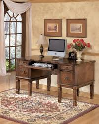 Home Office Furniture Nashville Hamlyn Medium Brown Home Office Storage Leg Desk H527 26