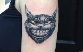cheshire cat tattoo alice in wonderland time lapse youtube