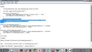 Blinking Or Changing Text Color And Background Color In Java Html Set Page Background Color