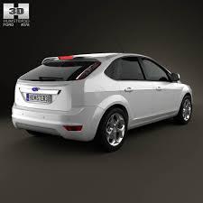 model ford focus ford focus hatchback 5 door 2009 3d model hum3d