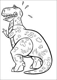 dinosaur toy story coloring pages image dinosaur 2017