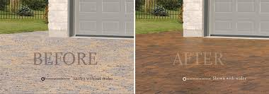 Wet Look Patio Sealer Reviews Concrete Paver Cleaners And Sealers Belgard Hardscapes