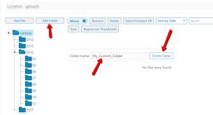 Organize Media by How To Add And Organize Custom Folders To Wordpress Media Library