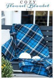 diy blanket cozy flannel blanket diy stonegable