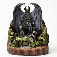 jim shore disney traditions maleficent forces of evil carved by