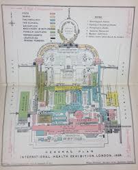 Royal Albert Hall Floor Plan International Health Exhibition 1884
