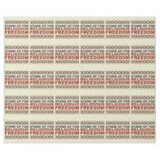 constitution wrapping paper zazzle