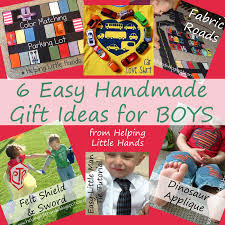 pieces by polly 6 easy handmade gift ideas for boys