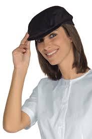 chapeau de cuisine chapeau beret de cuisine coppola noir calot et beret de cuisine