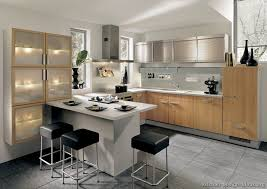 peninsula kitchen cabinets pictures of kitchens modern two tone kitchen cabinets page 6