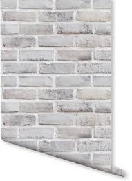brick effect wallpaper milexa