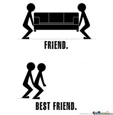 friends and best friends by ben meme center