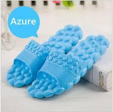 wholesale men women bubble massage non slip bathroom slippers