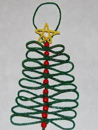 wikki stix christmas tree crafts for kids wikki stix