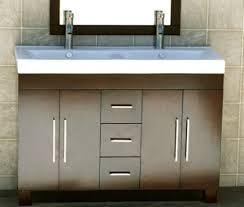 magnificent 48 inch double vanity and bathroom top double sink