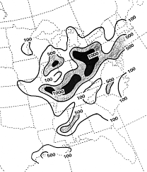 Map Of The Eastern United States by Haze Over The Central And Eastern United States