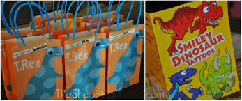 dinosaur party favors dinosaur party the shopping