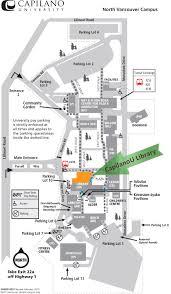Columbia University Campus Map Library Maps Capilano University