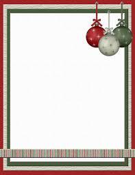 christmas christmas templates free stationery com template