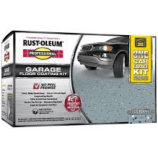 shop rust oleum high performance 2 part gray gloss garage floor