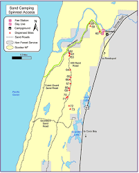 map of oregon dunes siuslaw national forest ohv cing