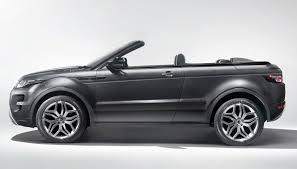 range rover side view range rover evoque convertible concept egmcartech