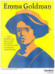 Emma Goldman poster by David Lester, 1977. This poster of the anarchist ... - emma-goldman-poster-by-david-lester-1977