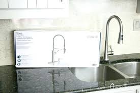 kohler revival kitchen faucet kohler single handle kitchen faucet leaking at base leaking kohler
