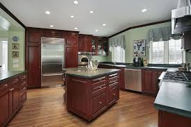 grey stained kitchen cabinets taupe paint color walls scheme round