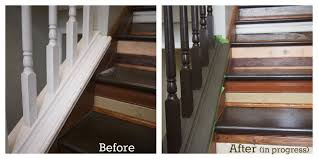 Stripping Paint From Wood Banisters Choosing The Right Brown