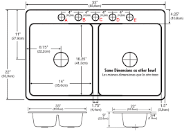 kitchen faucet sizes minimalist concept kitchen sink dimensions ideal rainbowinseoul