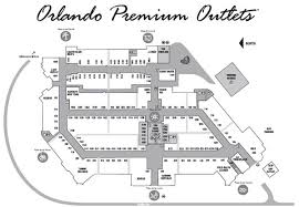 orlando premium outlets map premium outlets free vip coupon book