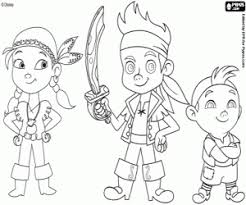 jake land pirates coloring pages printable games