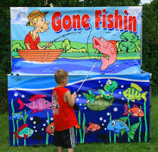 carnival party rentals fishin frame for your sports themed party
