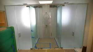 Replacement Glass For Shower Door Replace Shower Door With Curtain Free Home Decor