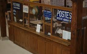 le ancienne de bureau le bureau de poste au musée de l ancienne malterie de chagne