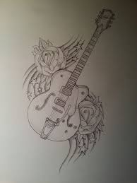 pictures drawings of electric guitars drawing art gallery
