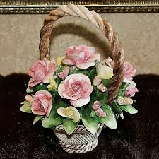 capodimonte basket of roses 144 best capodimonte there is none like this images on