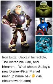 Pixar Meme - iron buzz captain incredible the incredible carl and hhmmm what