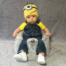 Minion Baby Halloween Costume Mom Counts Halloween Dressing Baby Cute Costumes