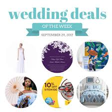 wedding deals wedding deals september 29 2017 the budget savvy