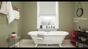 Bathroom Wall Color Ideas by Bathroom Ideas Using Olive Green Dulux Youtube