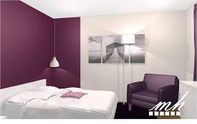 couleur de chambre violet ado blanc et peinture inspiration coucher la chambre architecture