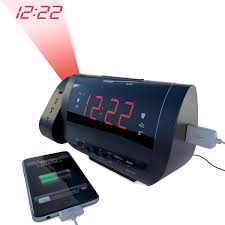 Clock That Shines Time On Ceiling by Rated Best Alarm Clock Radio With Time Projection Usb Charger For