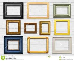 Wall Picture Frames by Wall And Frames Stock Images Image 37112024