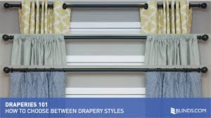 draperies 101 how to choose between drapery styles video gallery