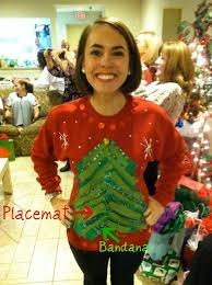 superb ugliest sweater christmas party part 1 christmas tree