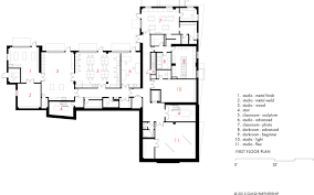 Photography Studio Floor Plans by Horvitz Hall Gund Partnership Archdaily