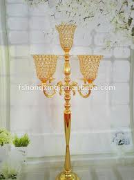 wedding candelabra centerpieces 5arms wedding globe candelabra centerpiece candle